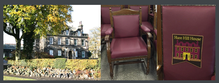 Antique chair restoration for Commercial client