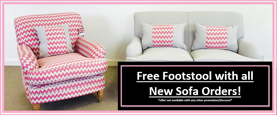 sofa offer free footstool