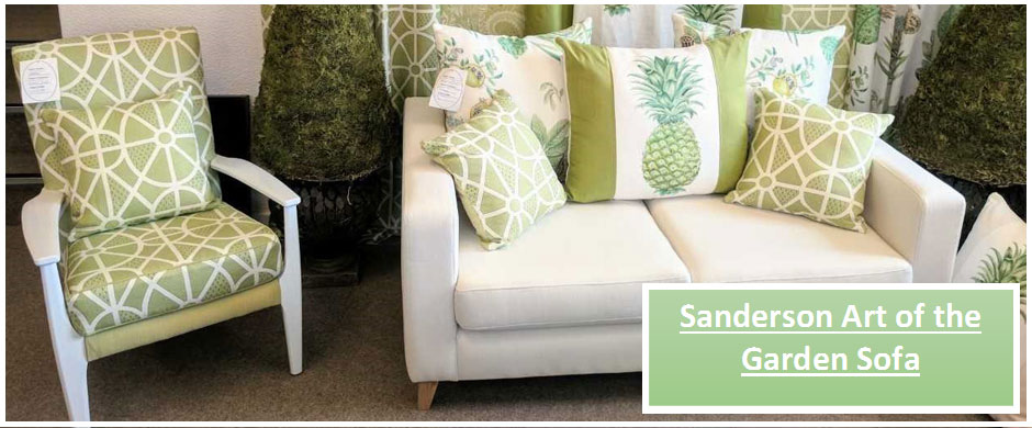 Sanderson Art of the Garden Sofa