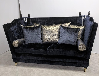 Champagne colour traditional sofa