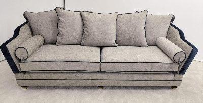 Eaton 3 seater scatter back sofa