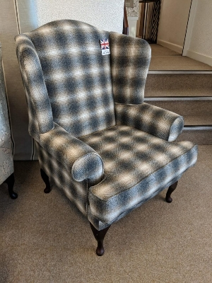 Naturally Wool Wing chair