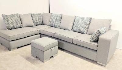 Our most popular corner sofa and can be made to measure